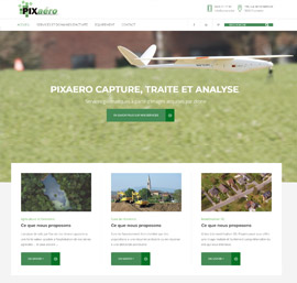 Pixaero acquisition images par drone