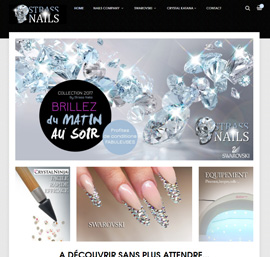 Strass nails company Belgique