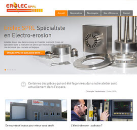 Erolec site internet